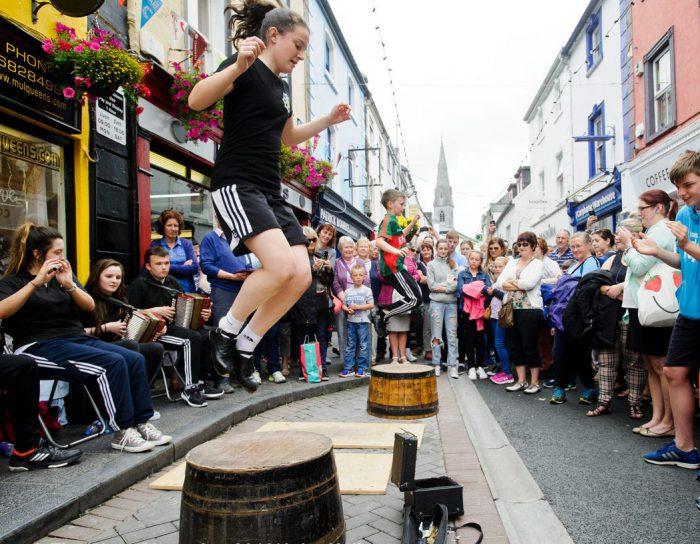 La fiesta de la música irlandesa. Fleadh Cheoil 2018,Drogheda.